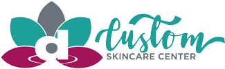 Custom Skincare Center Logo